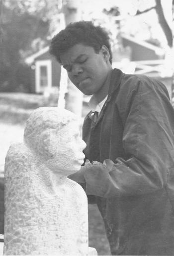 bh-Bernard VA Stone Sculpture